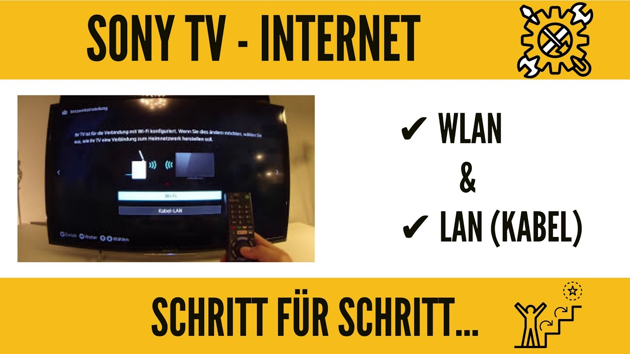 sony smart tv internet einrichtung wlan f hig machen ganz einfach youtube. Black Bedroom Furniture Sets. Home Design Ideas