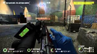 Payday 2 Sniper DLC - R93 Combat Sniping  (Watchdogs Overkill)