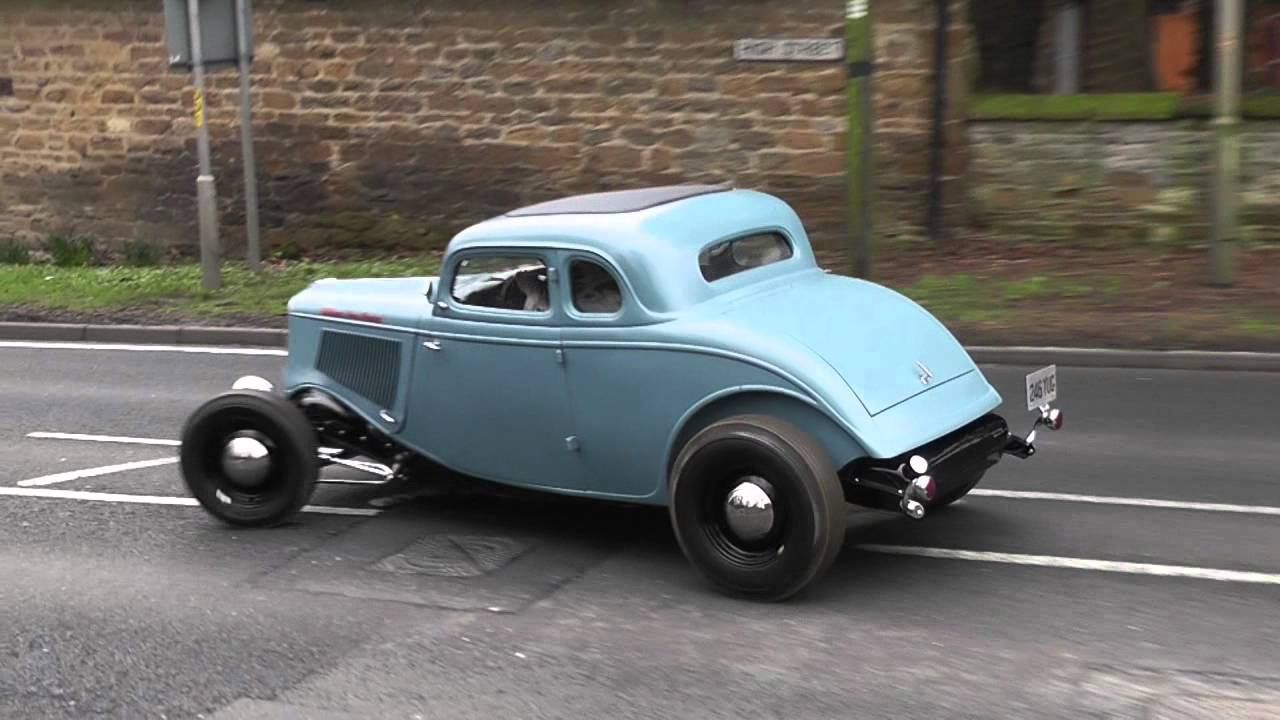 1933 ford hiboy coupe first drive youtube