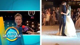 ¡Se filtran primeras imágenes de la boda de Dulce María y Paco Álvarez! | Venga La Alegría