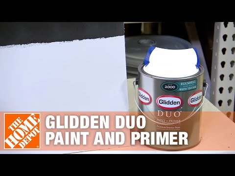 Glidden Duo Paint and Primer - The Home Depot