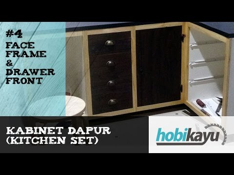 Diy Homemade Kitchen Cabinet Part 4 Face Frame