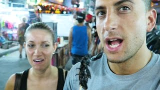EATING SCORPIONS IN THAILAND!!!