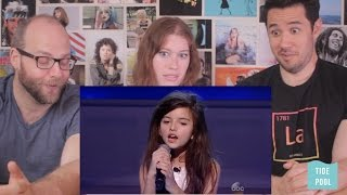 Amazing 8 Year old singer - REACTION - Norway's Got Talent winner Angelina Jordan