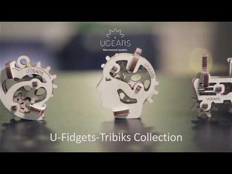 【海思】Ugears -手癢系列 Fidget 來自烏克蘭.橡皮筋動力.機械驚奇 ! 科學玩具