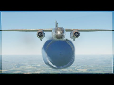 What German Bombs Really Sound Like (War Thunder Arado Jet Bombing Gameplay)