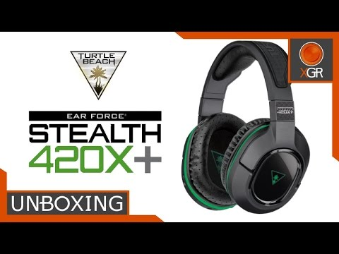 Unboxing -Turtle Beach Ear Force Stealth 420X+ Wireless Xbox One Headset