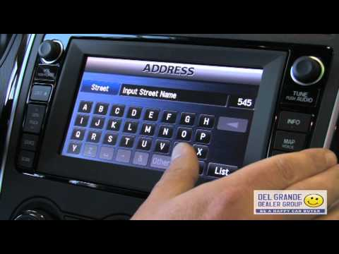 How To Use 2011 Mazda CX-9 Navigation System - YouTube