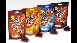 McVities Digestives Nibbles Double Chocolate Taste Test