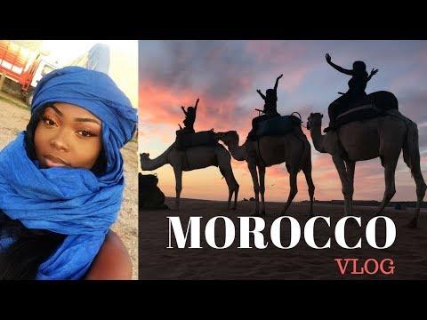 GIRLS TRIP TO MOROCCO - VLOG01