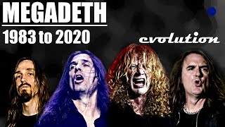 The Evolution of Megadeth (1983 to present)
