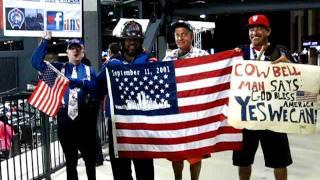 September 11, 2011 Mets Fans salute First Responders & Family