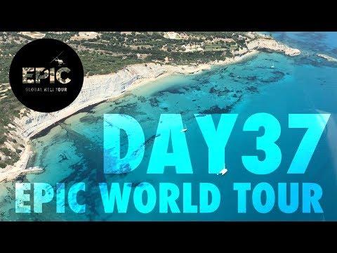 WHITE BEACHES IN GREECE   EPIC World Tour DAY 37