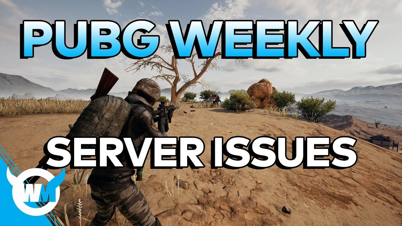 PUBG WEEKLY: Server Issues – Tickrate, Lag, Hit Registration Update