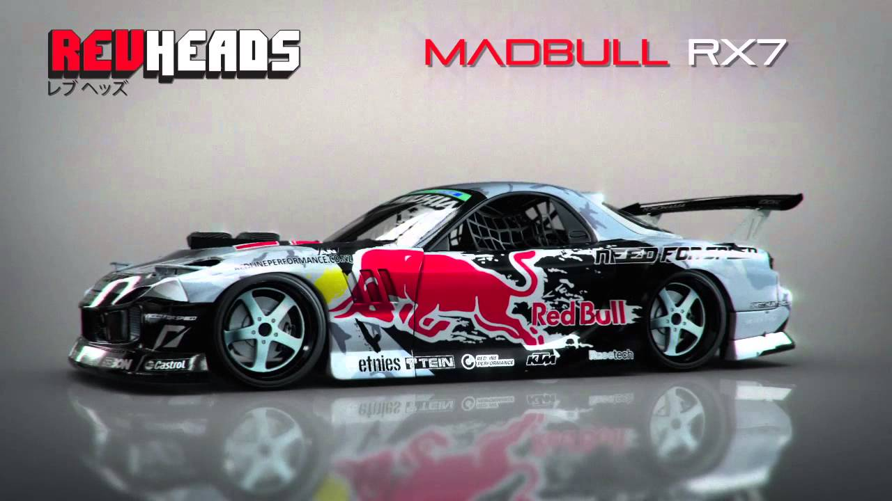 Project Cars Wallpaper Red Rev Heads 3d Mad Mike Rx7 In Hd Youtube