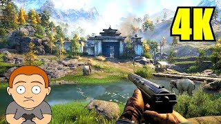 Far Cry 4 Pc 4K Ultra Gameplay GTX 1080 TI 8700K Frame Rate Performance Test