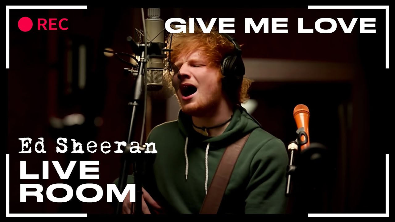 ed sheeran in the live room ed sheeran quot give me quot captured in the live room 24241
