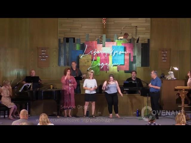 God is Bigger worship service