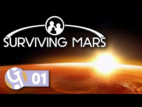 🚀 A Different Sunrise | Let's Play Surviving Mars (Pre-Release) #01