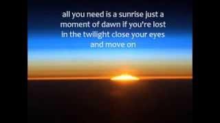 Sunrise - Brandon Heath