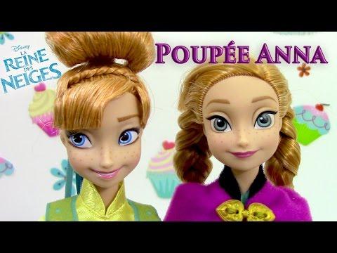 Poupée Reine des Neiges Anna 2015 Review Disney Frozen Fever Jouet Mattel Revue