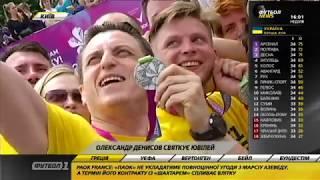 Каналы Футбол 1 и Футбол 2 - среди участников Пробега под каштанами