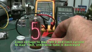 Nixie tube healer : recovery-revival unit for IN-18 nixie tubes    HD
