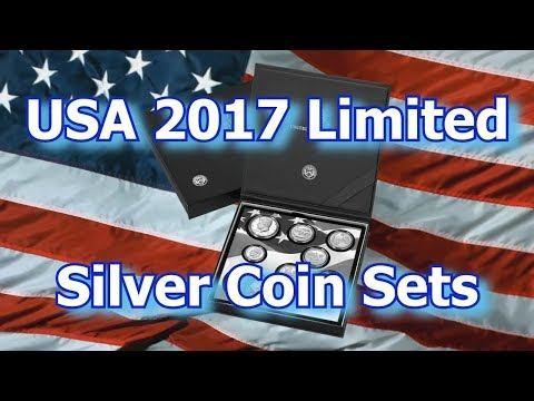 US Mint Releases 2017 Limited Silver Proof Coin Set