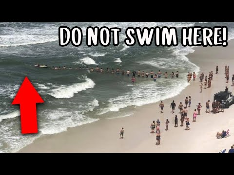 The Most Dangerous Rip Current & Undertow Locations In The World!