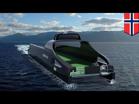 World's first unmanned ship being built by Norway and UK for offshore operations - TomoNews