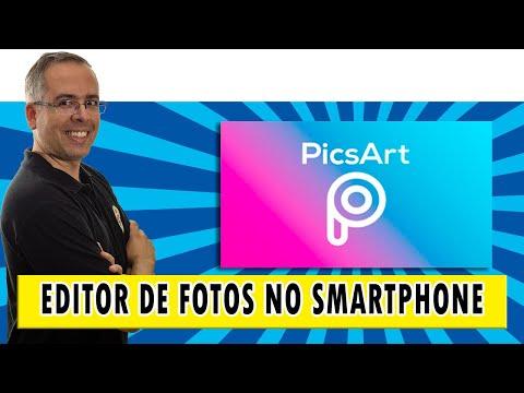PicsArt - um editor de fotos completo no seu smartphone | #picsart