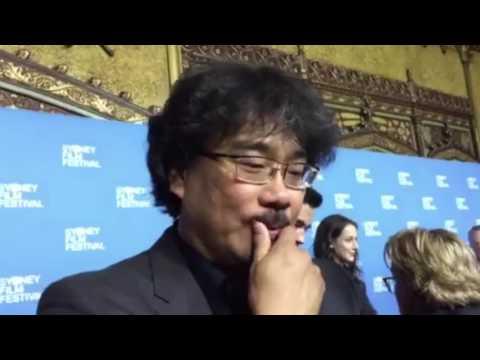 Bong Joon-Ho interview / SFF closing night red carpet