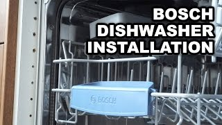 Video instructions for installing Bosch Built-in Dishwashers(Video instructions for installing built-in dishwasher Bosch. I decided to share can someone come in handy in my experience in the installation. Suitable for the ..., 2015-06-18T14:14:49.000Z)