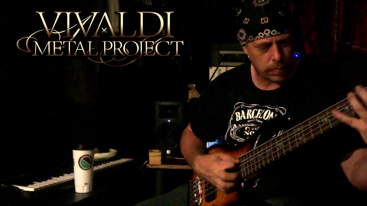 Richard Marks - Bass playthrough of the new song recorded for our upcoming 2nd studio album
