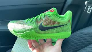 Nike Mamba Rage Grinch shoes