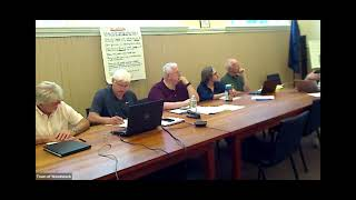 EDC Monthly Meeting August 5, 2021