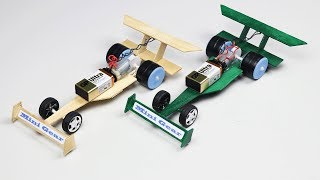How to make F1 Car from DC motor at Home