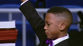 6 Year Old Testimony and Praise Break @ COGIC 111th Holy Convocation