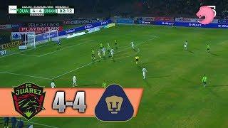 8 أهداف وإثارة رائعة.. خواريز يتعادل مع بوماس أونام في الدوري المكسيكي