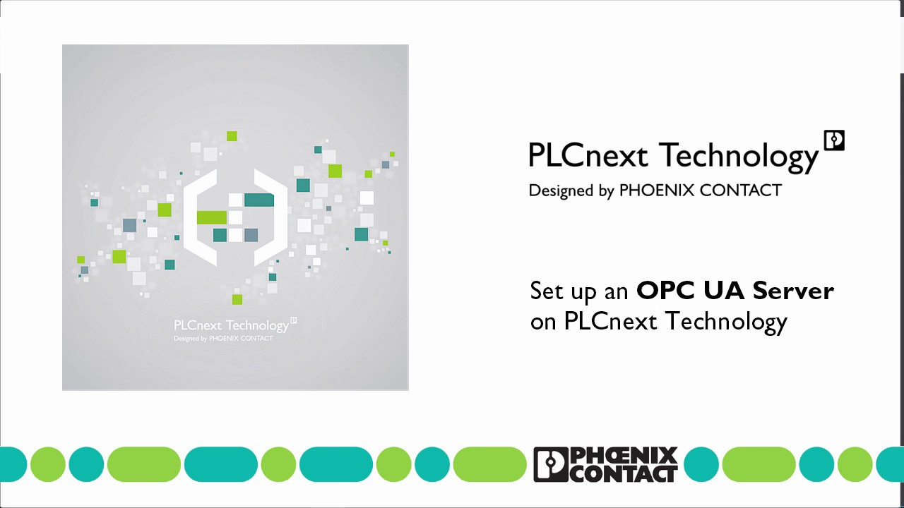 How to set up an OPC UA server connection with PLCnext Engineer