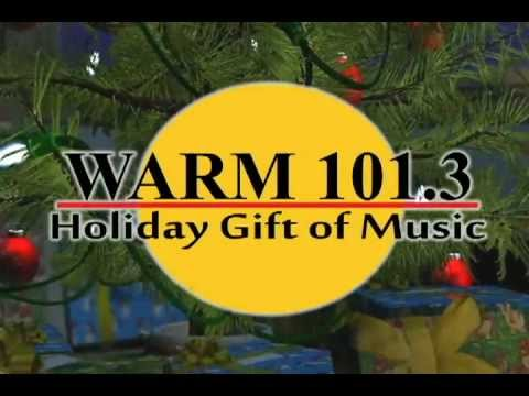 WARM 1013 Holiday Gift of Music  Starts November 18th