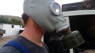 Gaz maskesi aydın haşere ilaçlama maskesi fumigasyon maskesi sipariş  0544 5160278 Video