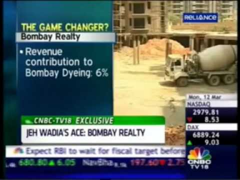 CNBC India Business Hour - Mr. Jeh Wadia - MD, Bombay Realty