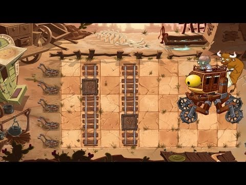 Plants vs Zombies 2: Wild West Day 25 - Final Boss Fight |