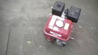 старый мотоблок МБ 1 замена двигателя