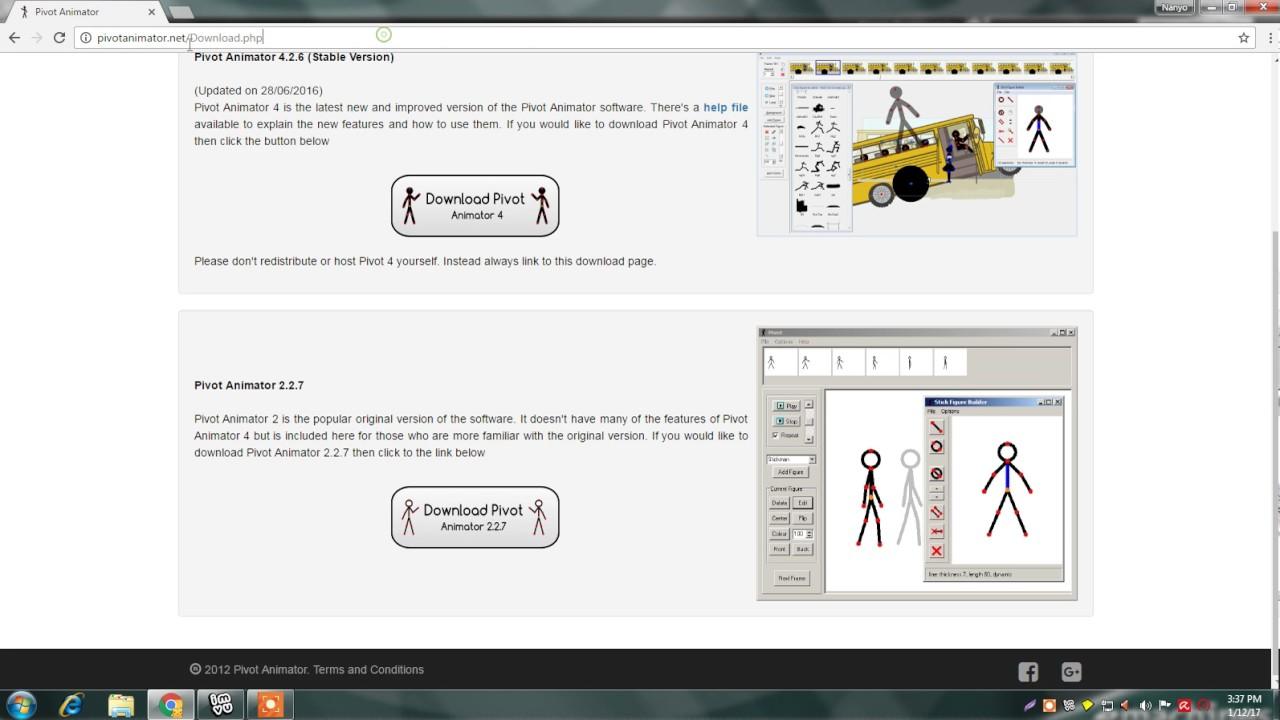 pivot animator 4 download