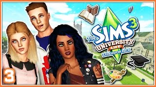 The Sims 3: University Life | Part 3 | First Day of Classes! 📖