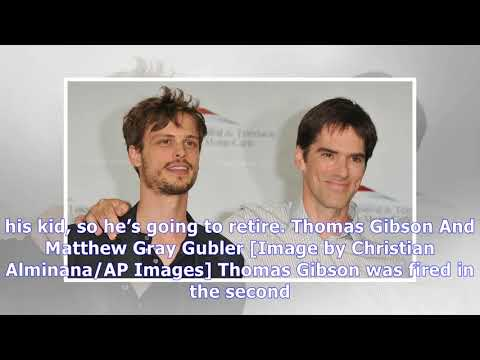 'criminal Minds' Explaining The Absence Of Thomas Gibson, Matthew Gray Gubler, And Damon Gupton [op