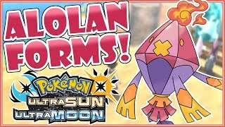 Top 5 AWESOME Alolan Forms for Pokemon Ultra Sun & Ultra Moon! [FANART]
