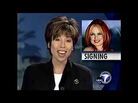 Geri Halliwell - ABC Local News - Hollywood (June, 1999)